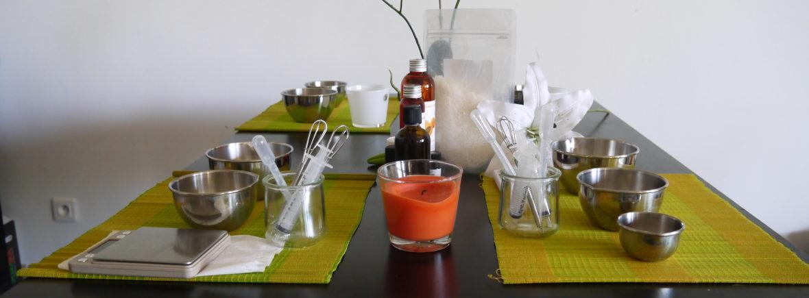Accessoires fabrication cosmétiques